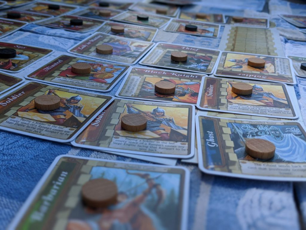 Castle - Board Game cards