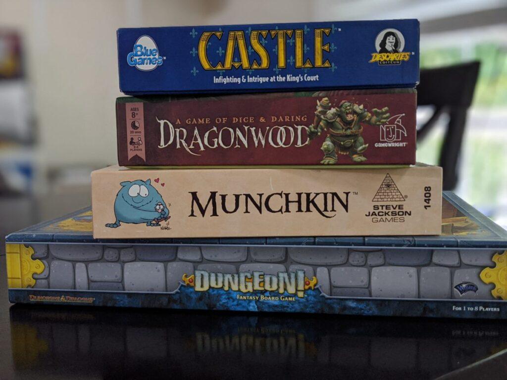 Renaissance Festival at Home Board Games