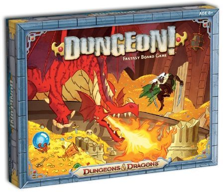 Dungeon! Board Game cover