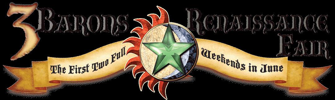 Three Barons Renaissance Faire Logo