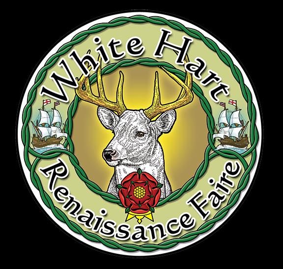 White Hart Renaissance Faire Logo
